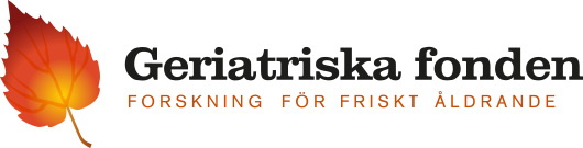 Geriatriska fonden logotype